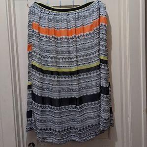 Maxi Tribal print skirt